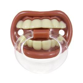 Ciuccio Denti stretti con anello