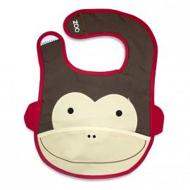 Bavaglino Zoo modello Scimmietta