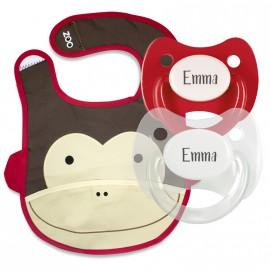 Pack Bavaglino Zoo Modello Scimmietta
