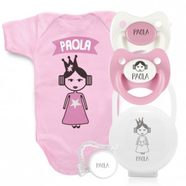 Pack Body Principessa Leia