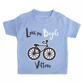 Maglietta I Love Bici