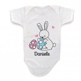 Body Personalizzato Coniglietto Pasquale