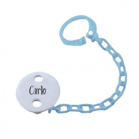 Clip Salvaciuccio Personalizzato Azzurro