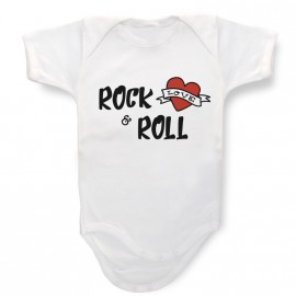 Body Personalizzato Rock & Roll