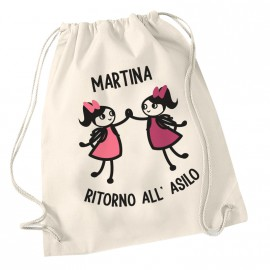 Zainetto Asilo Nido personalizzata