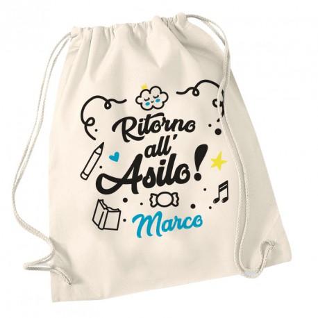 Zainetto Asilo Torna a scuola
