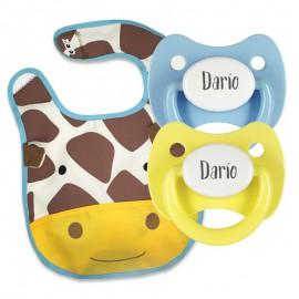Pack Bavaglino Zoo Modello Giraffa