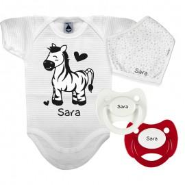 Pack Body Personalizzato Zebra