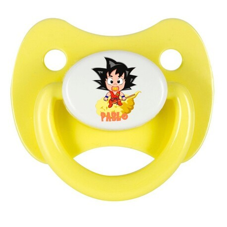 Ciuccio personalizzato Goku