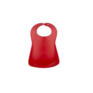 Bavaglina Plastica Rosso